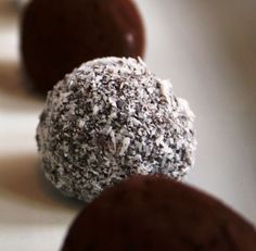 """Search Results for """"truffels """" – Kreatiewe Kos Idees Diabetic Deserts, Diabetic Sweets, Kos, Sweets For Diabetics, Banting Recipes, Truffles, Muffin, Low Carb, Homemade"""
