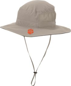 b6956f0251965 Columbia Men s Clemson Tigers Khaki Bora Bora Booney II Hat