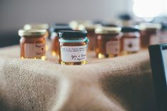 Honey jars wedding favors australia