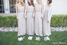 Dillard's Bridesmaid dresses: Arizona Bride: Arizona Wedding: McCormick Ranch Golf Club Wedding: April Maura Photography