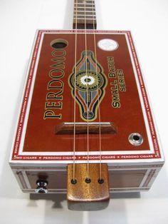 Small Batch 3 String Cigar Box Guitar