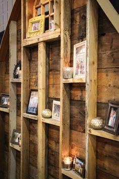 Rustic wall display