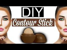 DIY Contour Stick EOS LIP BALM! - YouTube