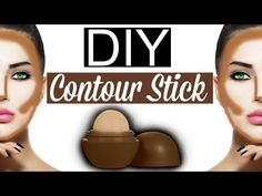 DIY Contour Stick EOS LIP BALM! - YouTube