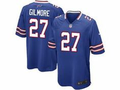 b708847ce Nike NFL Elite Bills  27 Stephon Gilmore Royal Blue Team Color Men s  Stitched Jersey Youth