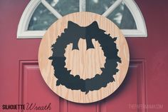 Silhouette Wreath