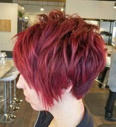 11 Hot Easy Short Haircuts: #3. Cherry Layers