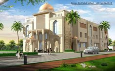 Hotel Design Architecture, Bungalows, Mosque, Apartments, Taj Mahal, Temple, Houses, 3d, Mansions