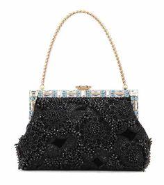 371666a55a6 Dolce  amp  Gabbana Embellished Shoulder Bag (25.065 BRL) ❤ liked on  Polyvore featuring