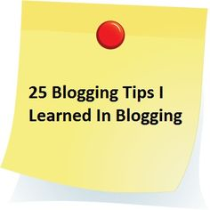 Learn how to write a good blog.