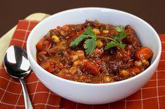 Healthy Meatless Veggie Chili Recipe