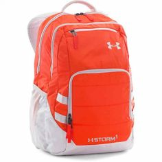 Under Armour Storm Camden II Backpack Diaper Bag Backpack, Laptop Backpack, Travel Backpack, Men's Backpacks, Orange Bag, Camden, Under Armour Women, Mens Fashion, Adidas