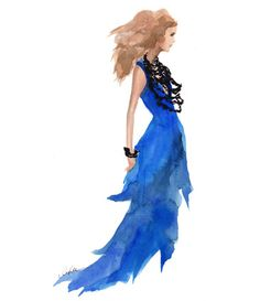 Karlie Kloss in Oscar de la Renta Spring '12 show by Inslee by Design