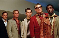 Ocean's Eleven. Year: 2001. Director: Steven Soderbergh. Cast: George Clooney, Brad Pitt, Julia Roberts.