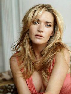 Kate Winslet.  Love the hair