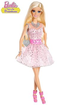 Bring her fave web series to life with fab fashion and fun phrases with Life in the Dreamhouse Talkin' Barbie Doll!