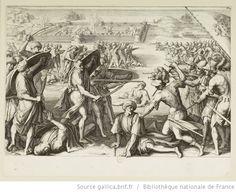 [La vie de Ferdinand Ier de Médicis]. [13], [Attaque des forts avancés de Bône] : [estampe] / [Jacques Callot inc.] ; [Bernardino Poccetti inv.] - 1