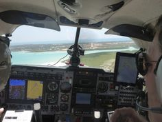 "Maggie, the Mooney, approaching Broome/Australia. Around the World in 80 days in a small aircraft. Read the book ""360 westwärts"" of Johannes Burges. http://360grad.burges.de"