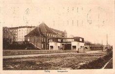 Valby: Banegaarden set fra Sporsiden - 1912