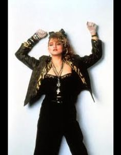 From her first movie.Madonna stole the movie from Roseanna Arquette.nobody plays Madonna.better than Madonna. Madonna Fashion, Eighties Party, 80s Party, Party Mix, 1980s Madonna, Madonna In The 80s, Madonna 80s Makeup, 80s Style, Madonna 80s