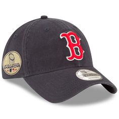 2330d8301ef7 Men s Boston Red Sox New Era Navy 2018 World Series Champions Sidepatch 9TWENTY  Adjustable Hat