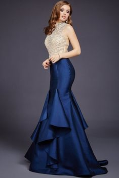 40 Marvelous & Stunning Christmas Party Nights & New Year's Eve Dresses Ideas; new years eve sequin dresses, lucky color for new year new years eve cocktail dresses, new years eve dresses nye dresses perfect new years eve dress, dresses Vestidos Jovani, Vestidos Zara, Jovani Dresses, Prom Dresses, Girls Dresses, Winter Formal Dresses, Blue Evening Dresses, Formal Gowns, Evening Gowns