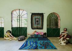 A Bright, Textured, Bohemian French Paradise | Apartment Therapy