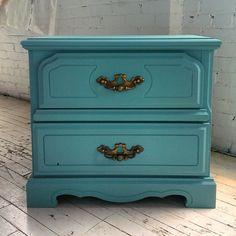 Buffet commode snowhite rehaussement de meuble la - Peinture bois meuble ...