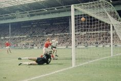 Geoff Hurst scores England's third goal - 1966 | Iconic Photo Galleries - Sport