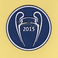 Barcelona UEFA CHAMPIONS LEAGUE 2015 Soccer Patch / Badge 2015-2016