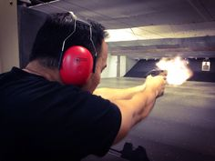 Shooting is a BLAST! Firearms, Trainers, Gym Equipment, Exercise, Hand Guns, Ejercicio, Excercise, Military Guns, Exercise Workouts