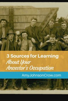 Learning about how our ancestors earned a living is one way to build context. Here are 3 sources to examine for your ancestor's occupation. via @amyjohnsoncrow