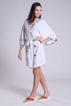 CD1 good bridal shower sith bathrobe cheap bridesmaid robe baby suit for wedding burnout kimono dressing gown kimono bridal extraordinaire