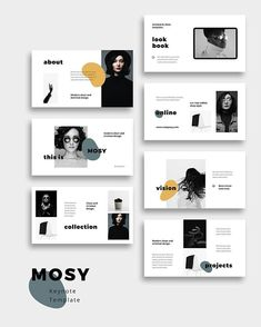 Layout design NOYA - Creative and stylish Presentation Template + Bonus for Keynote, Powerpoint, Goo Portfolio Design Layouts, Layout Design, Design De Configuration, Graphisches Design, Design Portfolios, Slide Design, Book Design, Portfolio Ideas, Booklet Design Layout