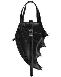 Bat Wing Bag.  I want it attached to a 3-point belt, like a holster.