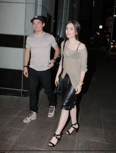 LILY - AUGUST 16TH - WALKING BACK TO HER HOTEL IN TORONTO.