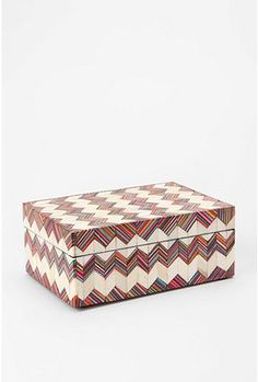 UrbanOutfitters.com > Geo-Inlay Wood Box