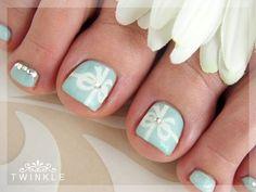 Beautiful Photo Nail Art: 34 Foot Nail Art Designs