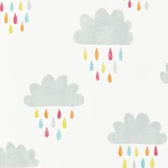 Buy Scion 111269 April Showers Wallpaper | Guess Who | Fashion Interiors