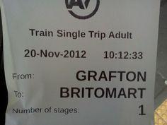 Grafton Train Station in Grafton, Auckland