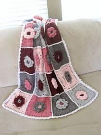 Seriously Daisies: Field of Dreams Baby Blanket