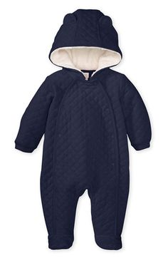Nordstrom Baby Quilted Velour Bunting (Infant)