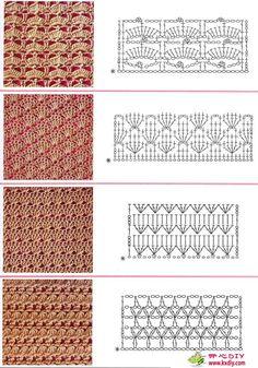 Mais pontos de crochet