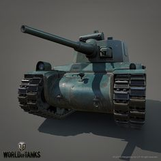 ArtStation - Renault G1R Tank, Leonid Kuzyakin