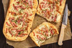 Podplamenník | Recepty.sk Hawaiian Pizza, Vegetable Pizza, Quiche, Cake Recipes, Food And Drink, Baking, Vegetables, Breakfast, Foods