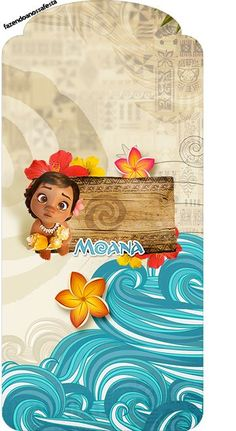 Moana Bebé: Imprimibles Gratis para Fiestas. Moana Themed Party, Moana Birthday Party, Moana Party, 2nd Birthday, Moana Disney, Disney Cruise, Party Kit, Baby Party, Moana Background
