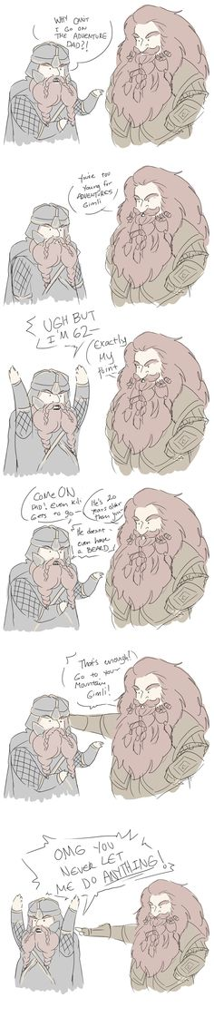 teenage gimli by Xeora.deviantart.com