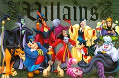 Below is alist of the villains featured in Disney media. Ever since Walt Disney created Steamboat Willie and Snow White and the Seven Dwarfs, there have always been villains raining on a hero's parade. Whether animated or in a live-action film, the villain has always fought the hero/heroine or just made their life a misery, the final usually featuring the primary villain going somewhat psychotic or super powered. Disney's gallery of rogues is one of the best known ones, and most of the...