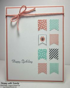 Banner Blast Birthday, FMS123 & STB - Stamp With Sandy