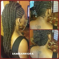 African American Hair Tips & Tricks ~ Kinky,Curly,Relaxed,Extensions Board Natural Hair Inspiration, Natural Hair Tips, Natural Hair Journey, African Hairstyles, Braided Hairstyles, Cool Hairstyles, Hairdos, Cabello Afro Natural, Beautiful Braids